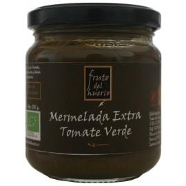 Artisan Green Tomato Jam, Fruto del Huerto, 210 gr.