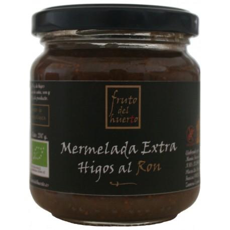 Artisan Figs with Rom Jam, Fruto del Huerto, 210 gr.