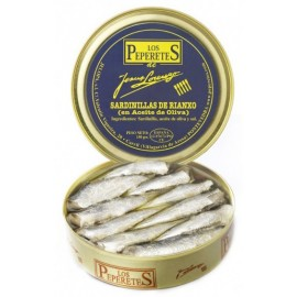 Sardinellas from Rianxo in Olive Oil Canned, Conservas Los Peperetes, 150 gr.