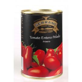 Natural Whole Peeled Tomatp, Conservas Serrano, 500 gr.