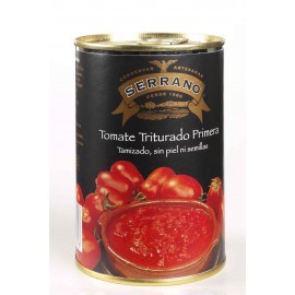 Crushed Tomatoes without Skin or Seeds, Conservas Serrano, 500 gr.