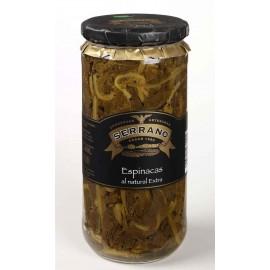 Natural Extra Spinach, Conservas Serrano,1.000 gr.