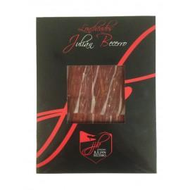 Acorn-Fed Iberian Ham D.O. Guijuelo Sliced, Jamones Julián Becerro, 100 gr.