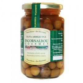 Arbequina Olives, Escornalbou Cooperativa Riudecanyes, 220 gr.