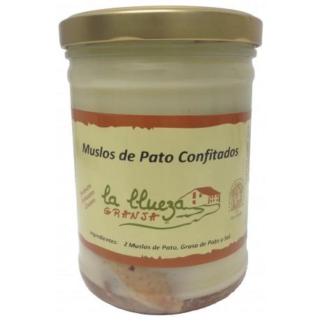 Confit Duck Legs, Granja La Llueza, 750 gr.